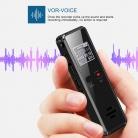 Registratore Vocale Portatile e Ricaricabile USB