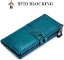 Portafogli da donna in vera pelle – Blocco RFID