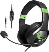 Cuffie gaming AmazonBasics – Verde
