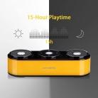 Altoparlanti Bluetooth Portatili Dual-Driver (Giallo)