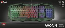 Trust Gaming GXT Avonn – Tastiera da Gioco Illuminata