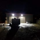 Faro LED da 30W a luce bianca con sensore di movimento