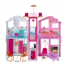 🎎Barbie Casa di Malibu – 4 Stanze, Ascensore e Tanti Accessori