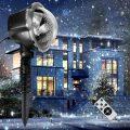 Decorazioni natalizie. Proiettore LED da Esterno e Interno