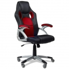 🛋Mc Haus – Sedia da ufficio girevole rosso