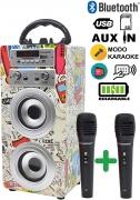 Altoparlante Bluetooth portatile – 2 Microfoni inclusi