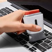 Accessorio pulizia schermo e tastiera PC