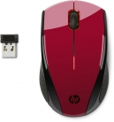 🖱HP X3000 Mouse Wireless, Rosso