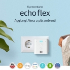 Echo Flex – Mini altoparlante intelligente con spina integrata e Alexa