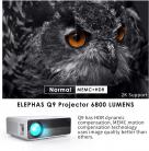 Videoproiettore 1080P HD 6800 lumen