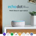 Echo Dot (3ª gen) – Altoparlante intelligente con orologio e Alexa