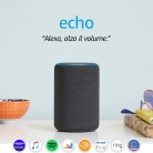 Amazon Echo 3nd Gen – Altoparlante intelligente con Alexa
