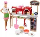 🎁Barbie la Pizzeria con Bambola + Tavolo per Le Pizze