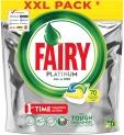 Fairy Platinum 70 Pastiglie Lavastoviglie – Limone