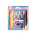 🖊Paper Mate Flair Candy POP  – 24 penne, punta media, colori assortiti