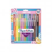🖊Paper Mate Flair Candy POP  – 24 penne, punta media, colori assortiti