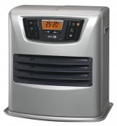 🔥Zibro LC 135 Stufa a Combustibile Elettronica – 3500 W, Argento