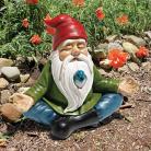 Design Toscano Gnomo da giardino Zen