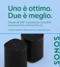 PROMO Sonos One e Sonos One SL – altoparlanti Wi-Fi