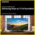 🖥Samsung Days AV – TV & Soundbar