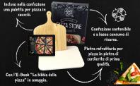 Dolce Mare® Set Pizza con Piastra refrattaria e Pala