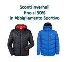 ❄️Sconti Invernali fino a -30% Abbigliamento Sportivo