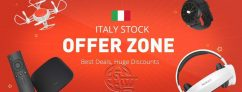 Italy stock OFFER ZONE