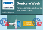 Ultimo Giorno! 'Philips Sonicare Week'